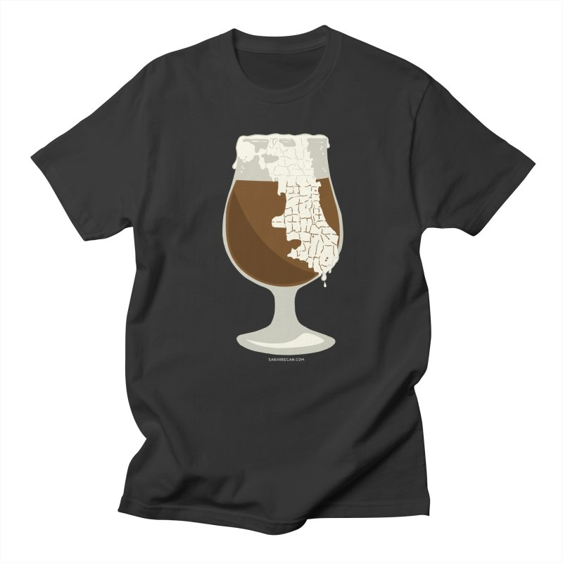 Chicago Beer Men's T-Shirt by Sarah Becan