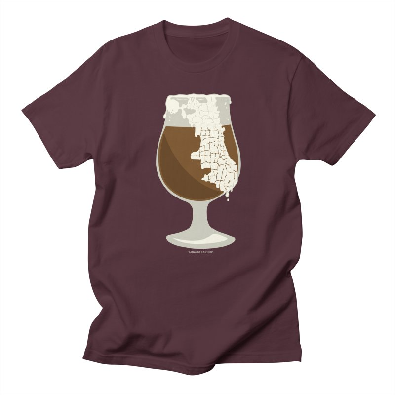 Chicago Beer Men's Regular T-Shirt by Sarah Becan