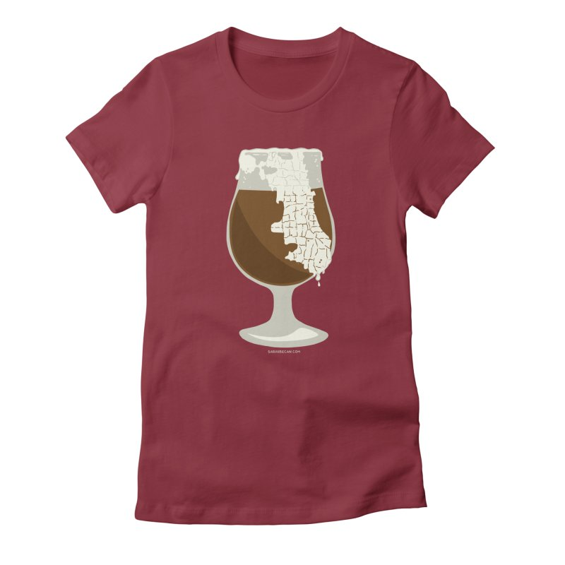 Chicago Beer Women's T-Shirt by Sarah Becan