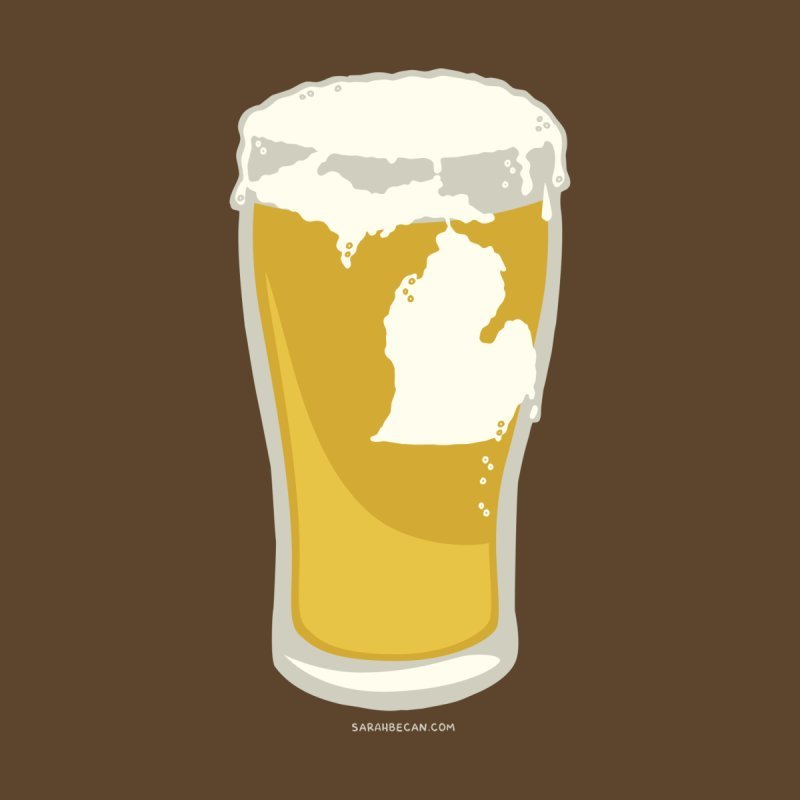 Michigan Beer by Sarah Becan