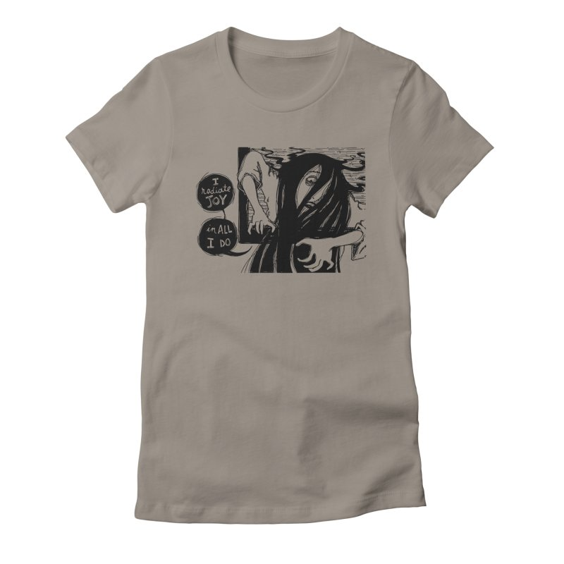 I Radiate Joy in All I Do Women's Fitted T-Shirt by Sarah Becan