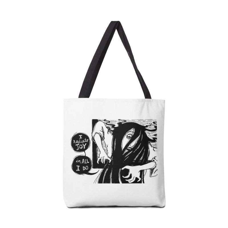 I Radiate Joy in All I Do Accessories Bag by Sarah Becan