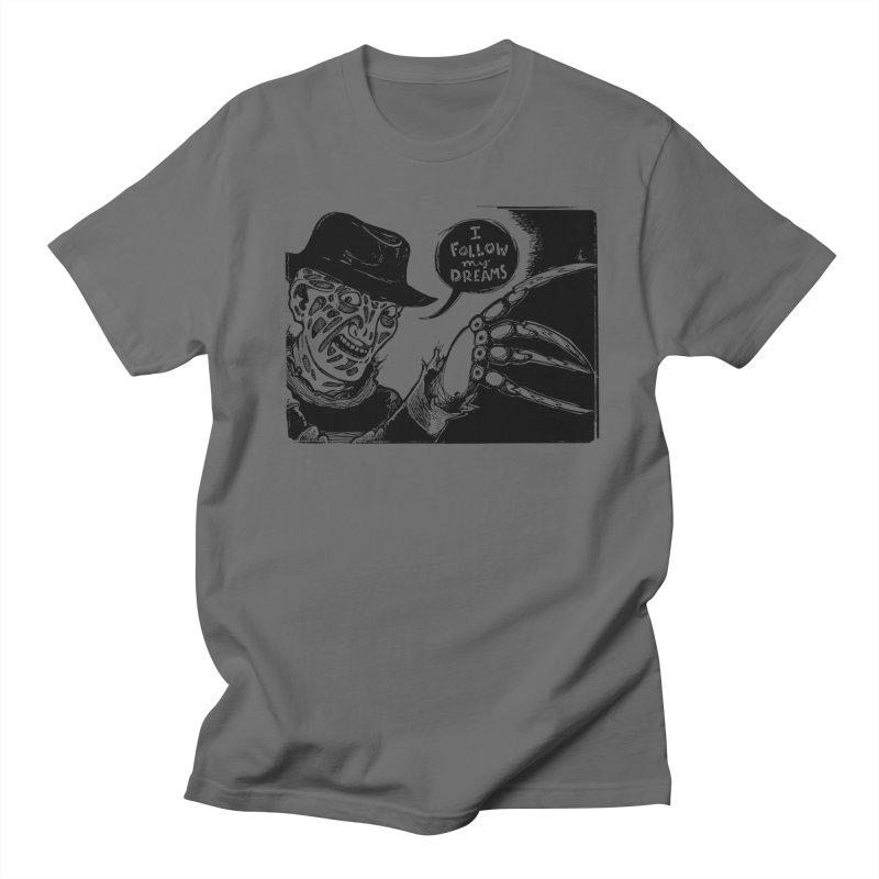 I Follow My Dreams Men's T-Shirt by Sarah Becan