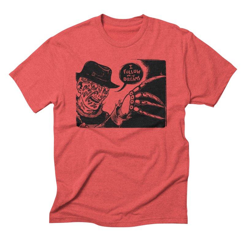 I Follow My Dreams Men's Triblend T-Shirt by Sarah Becan