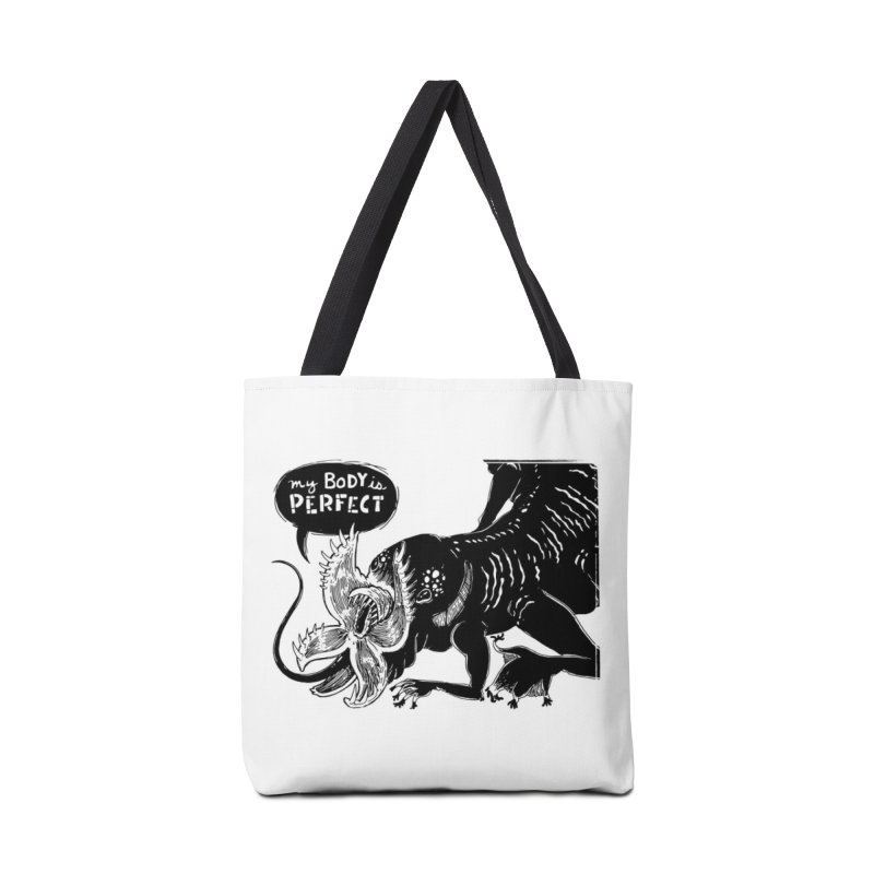 My Body is Perfect Accessories Bag by Sarah Becan