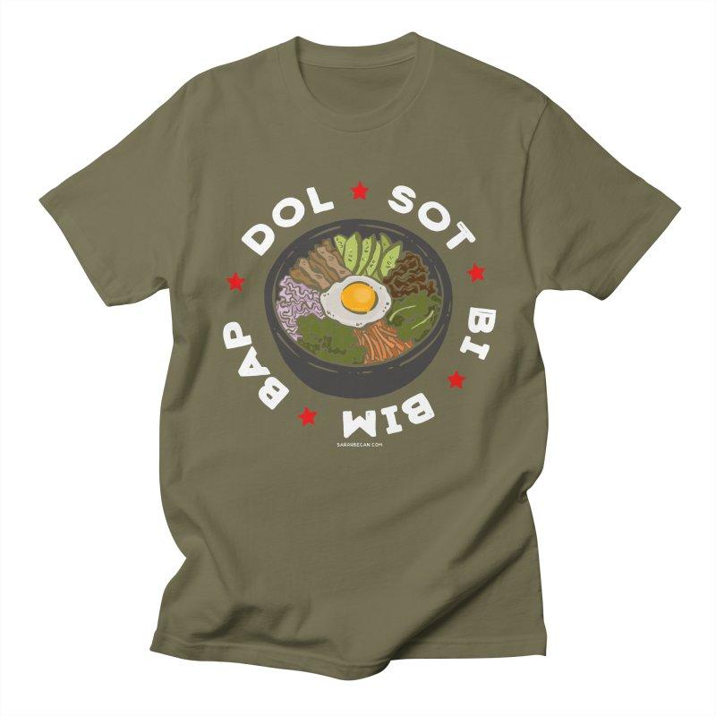 Dol! Sot! Bi! Bim! Bap!  Men's Regular T-Shirt by Sarah Becan