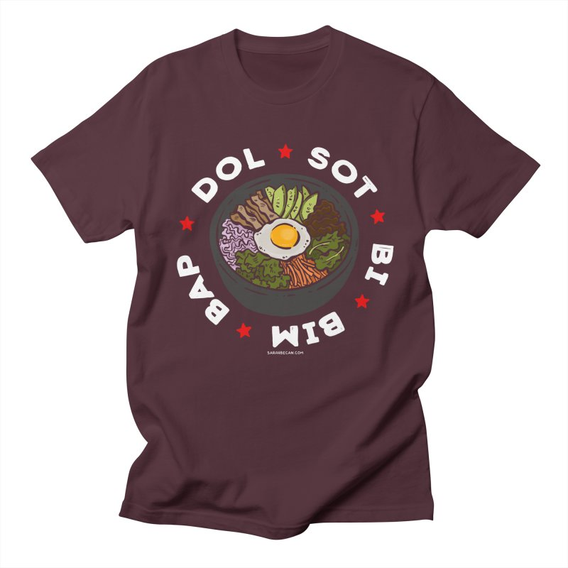 Dol! Sot! Bi! Bim! Bap!  Men's Regular T-Shirt by Sarah Becan