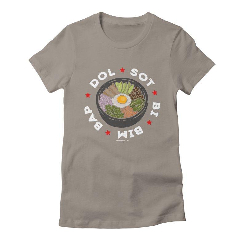 Dol! Sot! Bi! Bim! Bap!  Women's Fitted T-Shirt by Sarah Becan