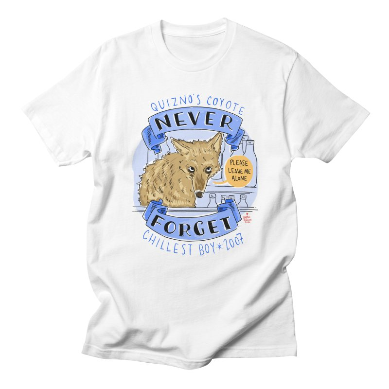 Quizno's Coyote - Never Forget Men's Regular T-Shirt by Sarah Becan