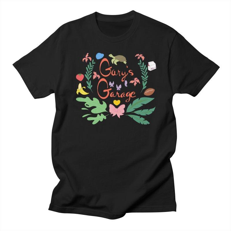 Gary's Garage Men's T-Shirt by sarahc's Artist Shop