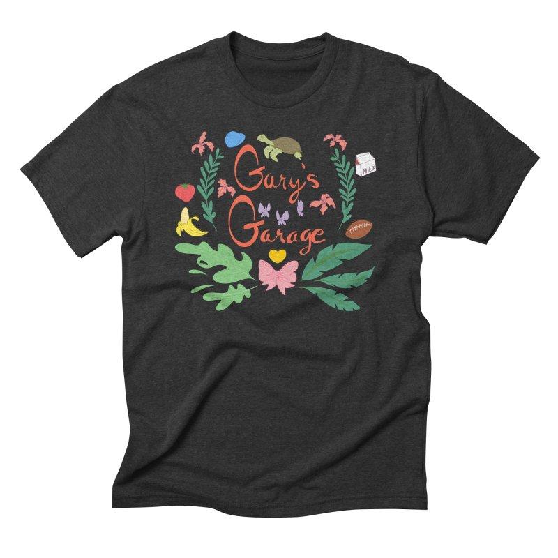 Gary's Garage Men's Triblend T-Shirt by sarahc's Artist Shop