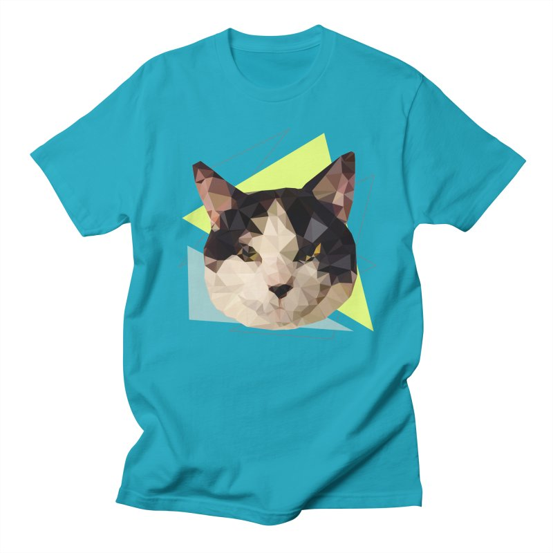 Le chat 01 Men's T-Shirt by sarahc's Artist Shop