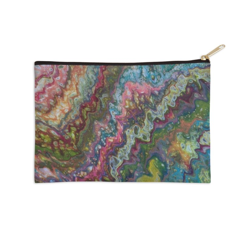 Lace Accessories Zip Pouch by Sarah Lyons . Art