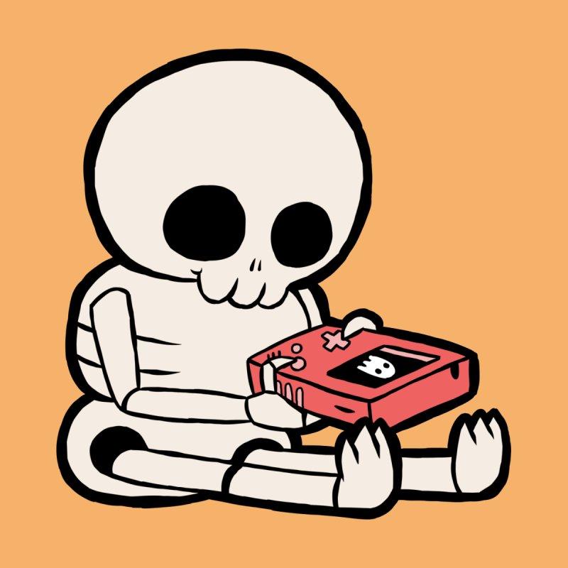Video Game Skeleton Boy by Sarah Graley's Artist Shop