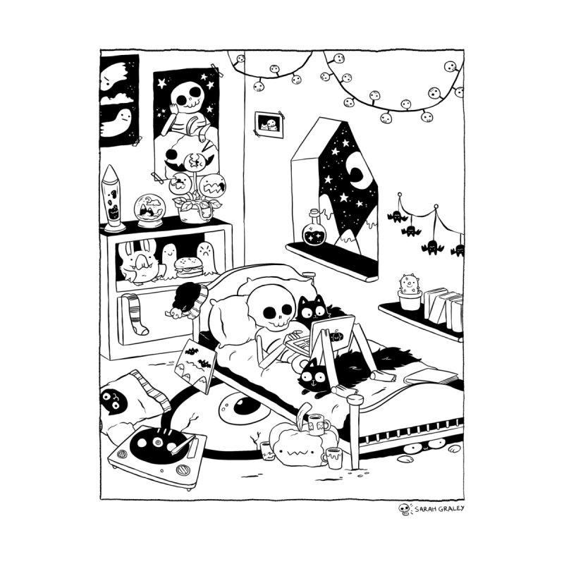 Skeleton Bedroom by Sarah Graley's Artist Shop
