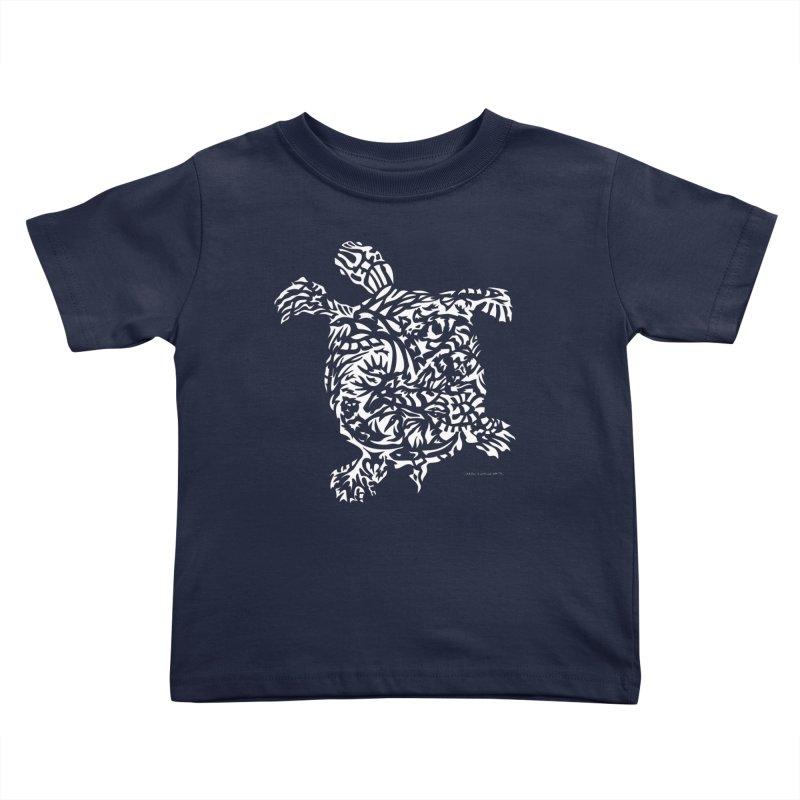 Turtle Kids Toddler T-Shirt by Sarah K Waite Illustration
