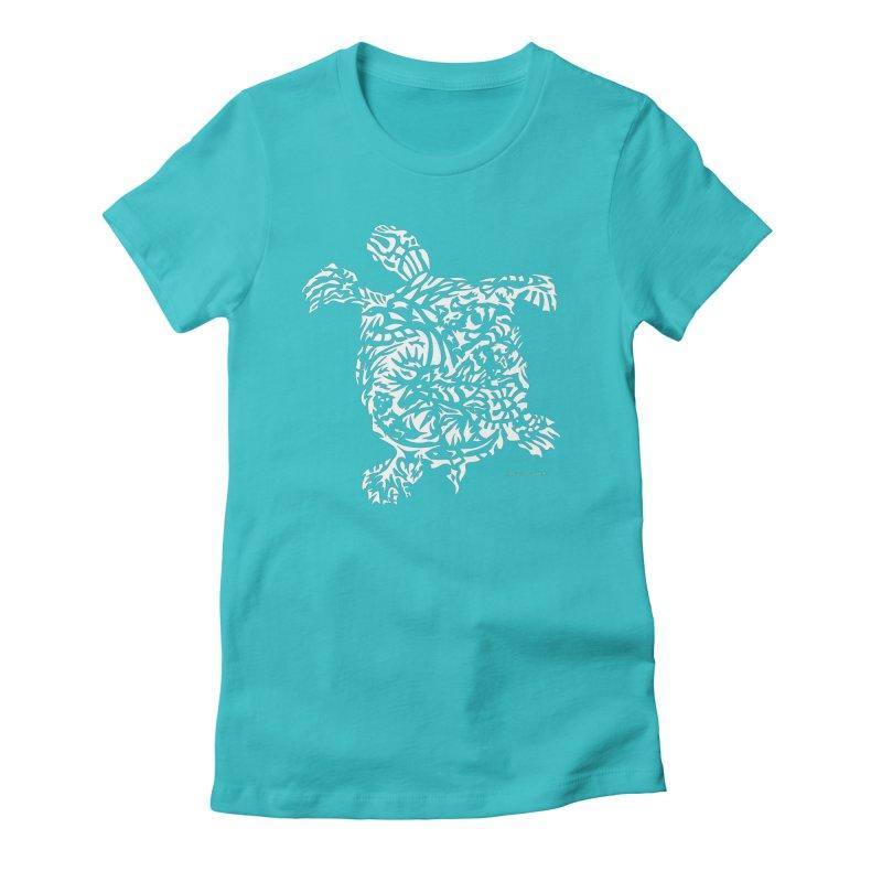 Turtle Women's T-Shirt by Sarah K Waite Illustration