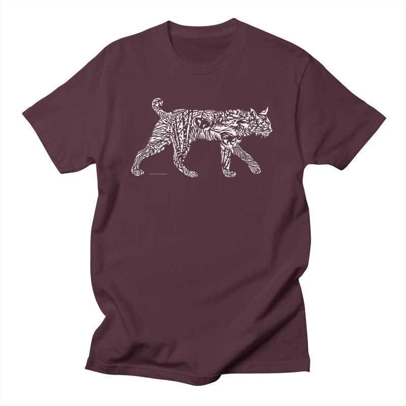 Bobcat Men's T-Shirt by Sarah K Waite Illustration