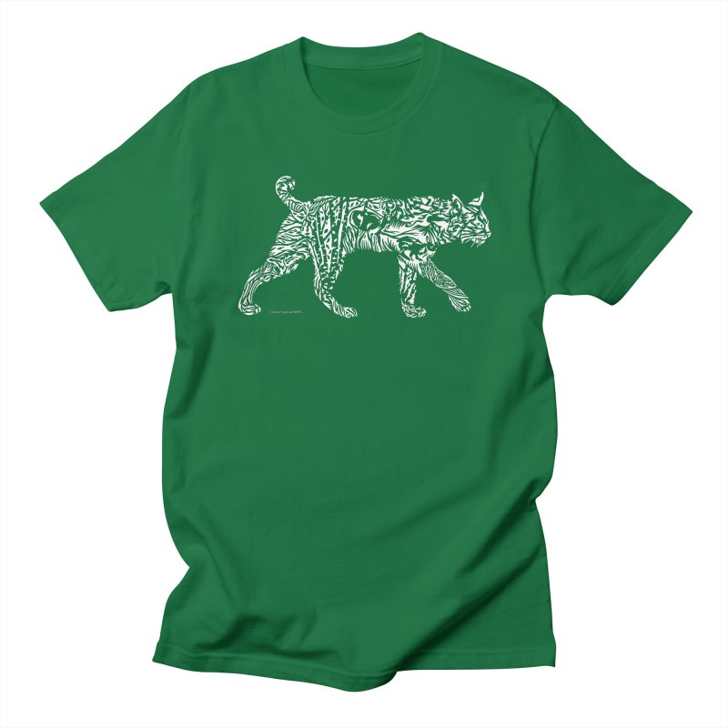 Bobcat Men's T-Shirt by Sarah K Waite Illustration