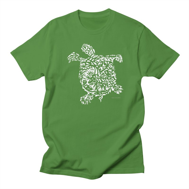 Turtle Men's Regular T-Shirt by Sarah K Waite Illustration