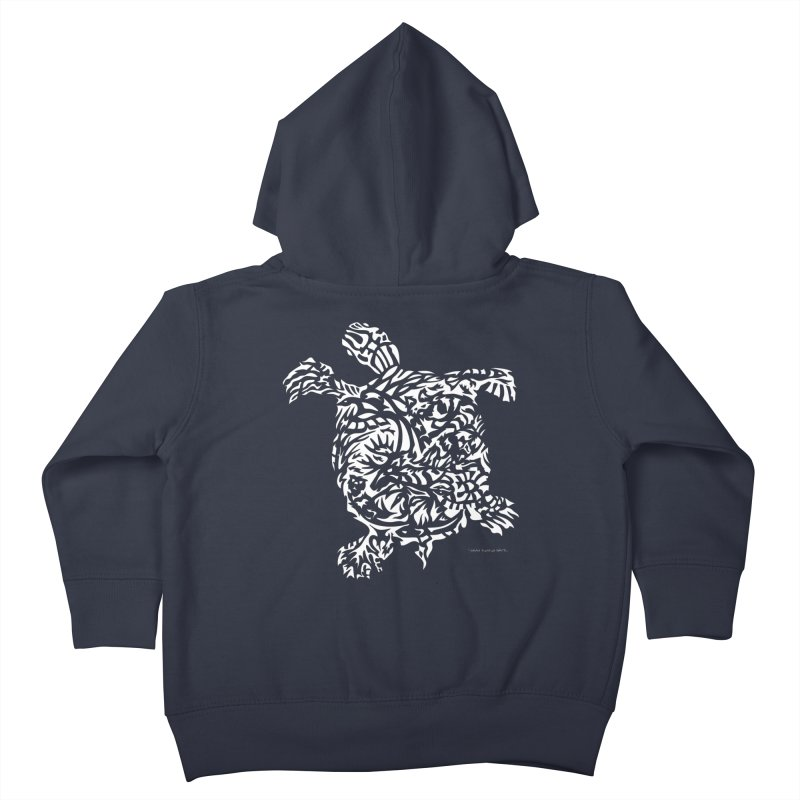 Turtle Kids Toddler Zip-Up Hoody by Sarah K Waite Illustration