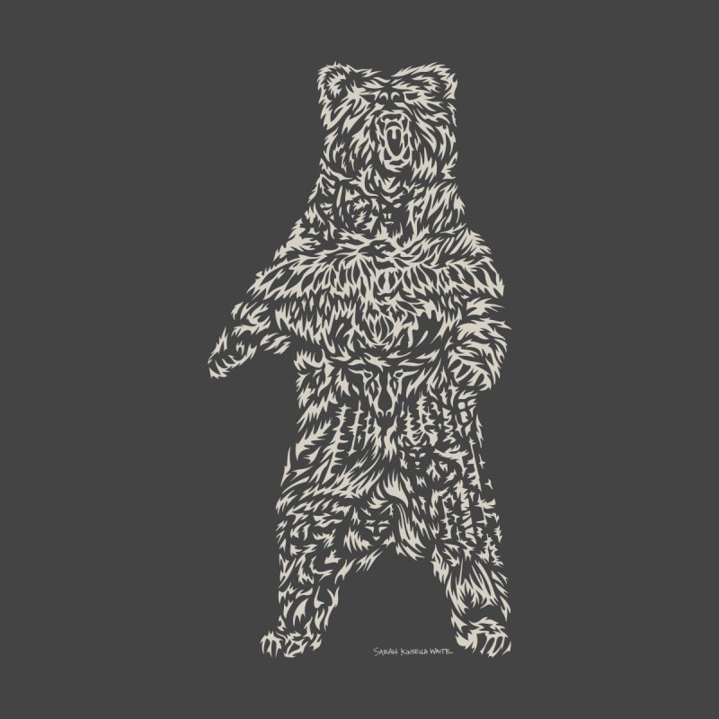Bear Men's Longsleeve T-Shirt by Sarah K Waite Illustration