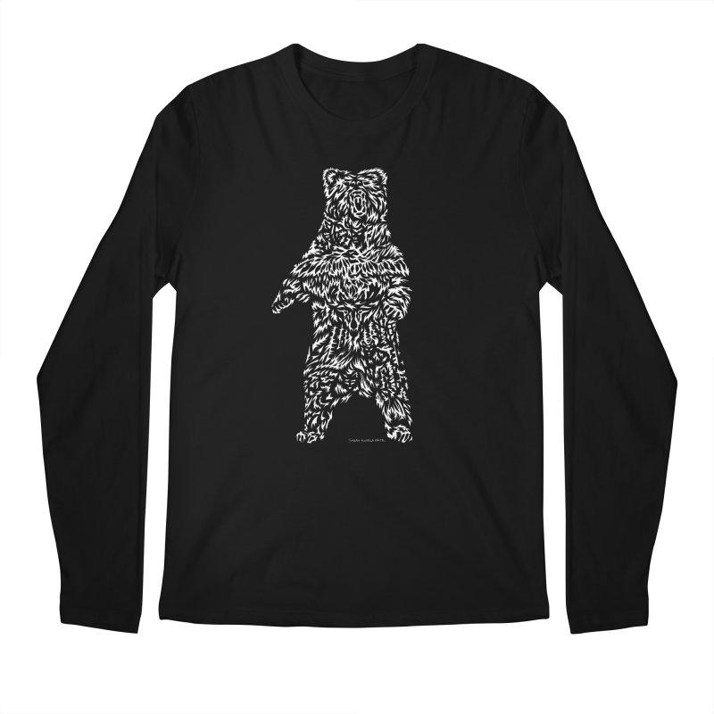 Bear Men's Regular Longsleeve T-Shirt by Sarah K Waite Illustration