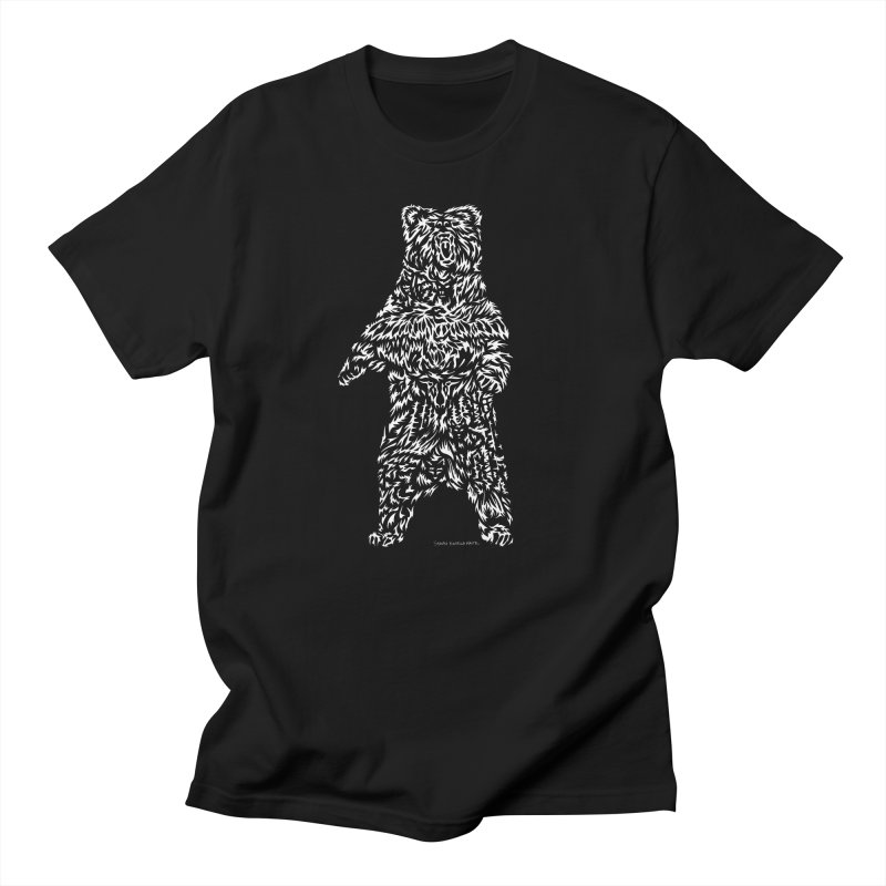 Bear Men's Regular T-Shirt by Sarah K Waite Illustration