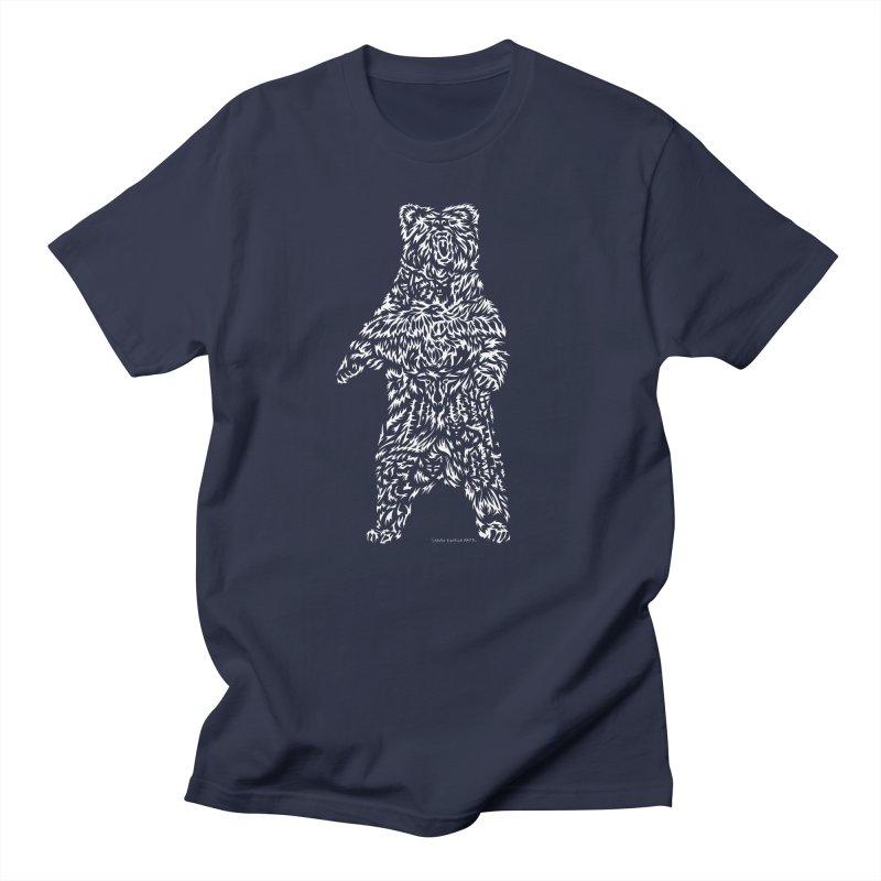 Bear Women's Regular Unisex T-Shirt by Sarah K Waite Illustration