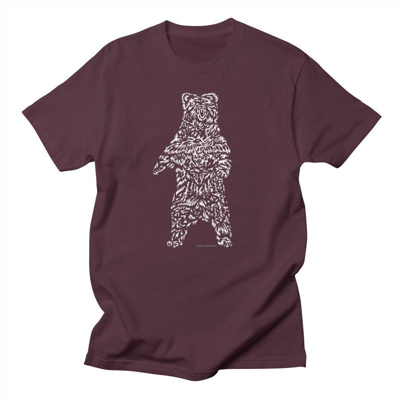 Bear Men's T-Shirt by Sarah K Waite Illustration