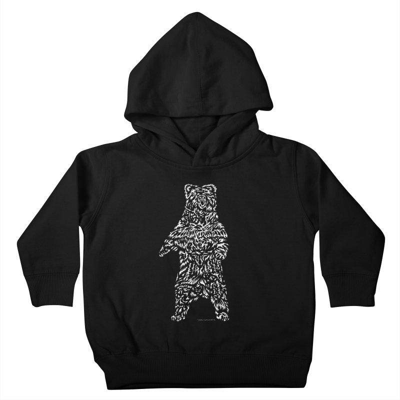 Bear Kids Toddler Pullover Hoody by Sarah K Waite Illustration