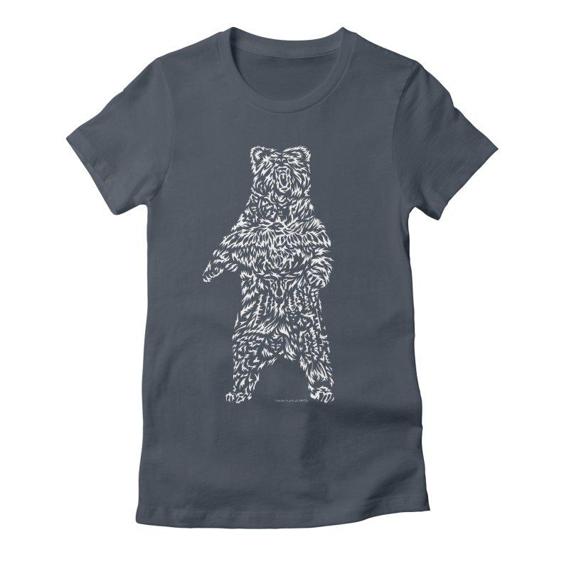 Bear Women's T-Shirt by Sarah K Waite Illustration
