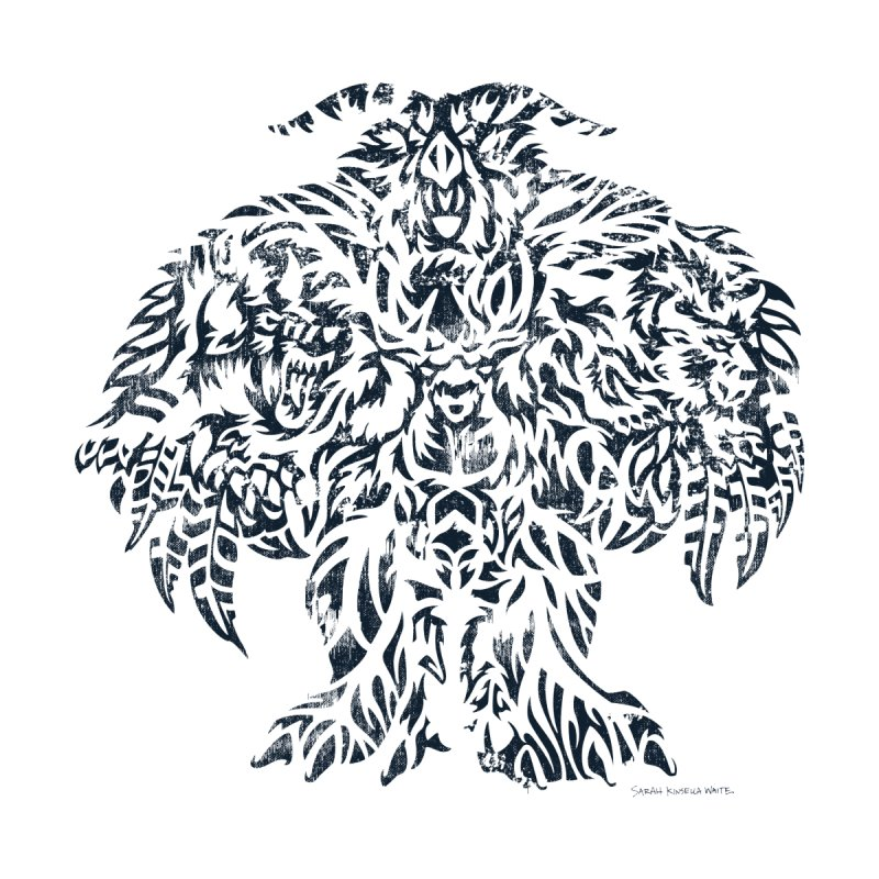 Moonkin Men's T-Shirt by Sarah K Waite Illustration