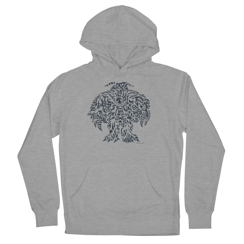 Moonkin Men's French Terry Pullover Hoody by Sarah K Waite Illustration