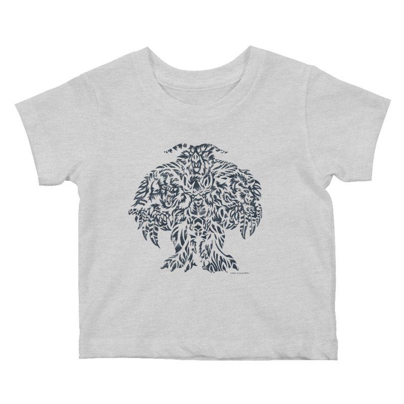 Moonkin Kids Baby T-Shirt by Sarah K Waite Illustration
