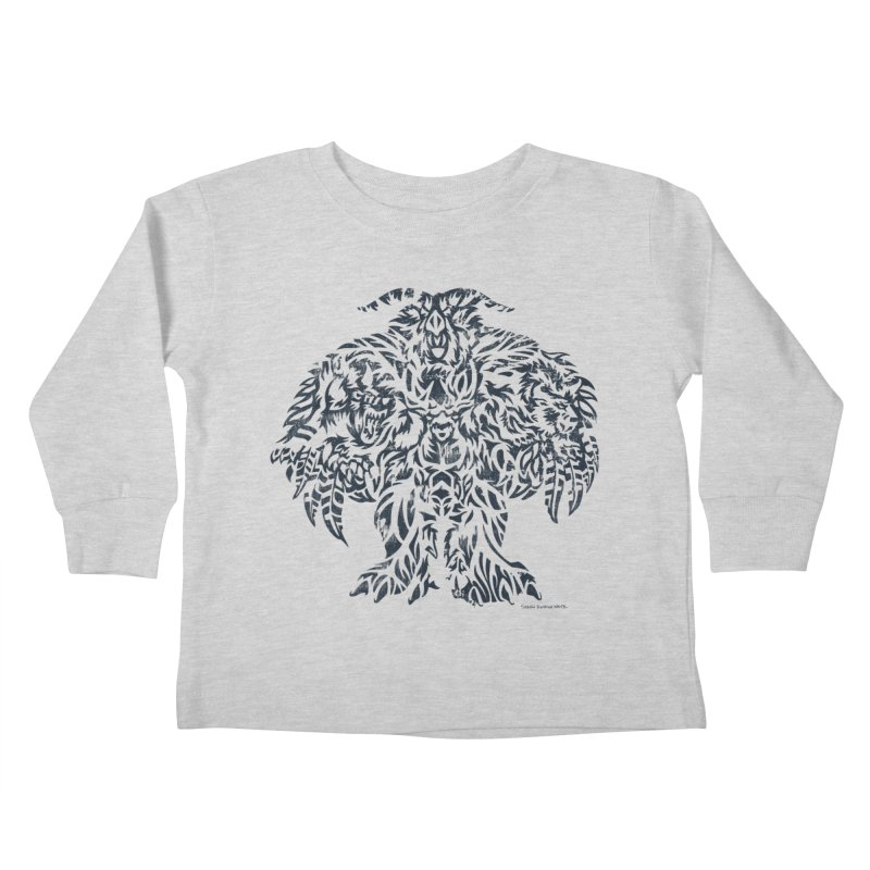 Moonkin Kids Toddler Longsleeve T-Shirt by Sarah K Waite Illustration