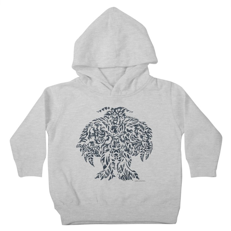 Moonkin Kids Toddler Pullover Hoody by Sarah K Waite Illustration