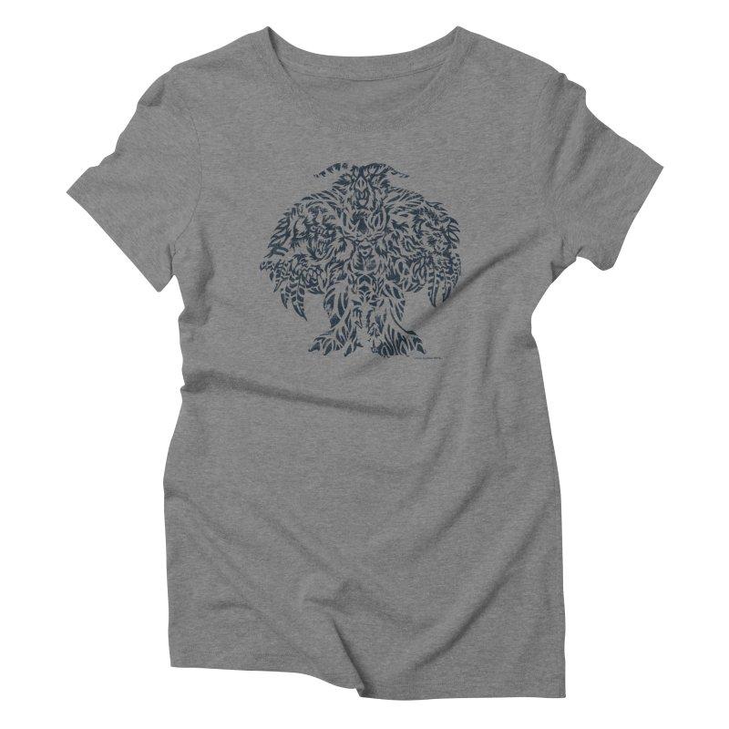 Moonkin Women's Triblend T-Shirt by Sarah K Waite Illustration