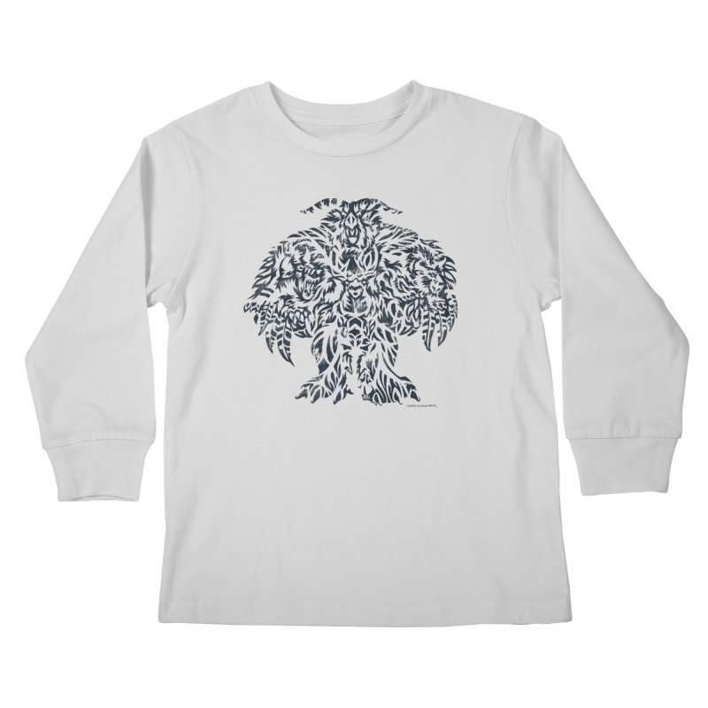 Moonkin Kids Longsleeve T-Shirt by Sarah K Waite Illustration