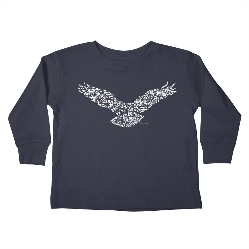 Osprey Kids Toddler Longsleeve T-Shirt by Sarah K Waite Illustration