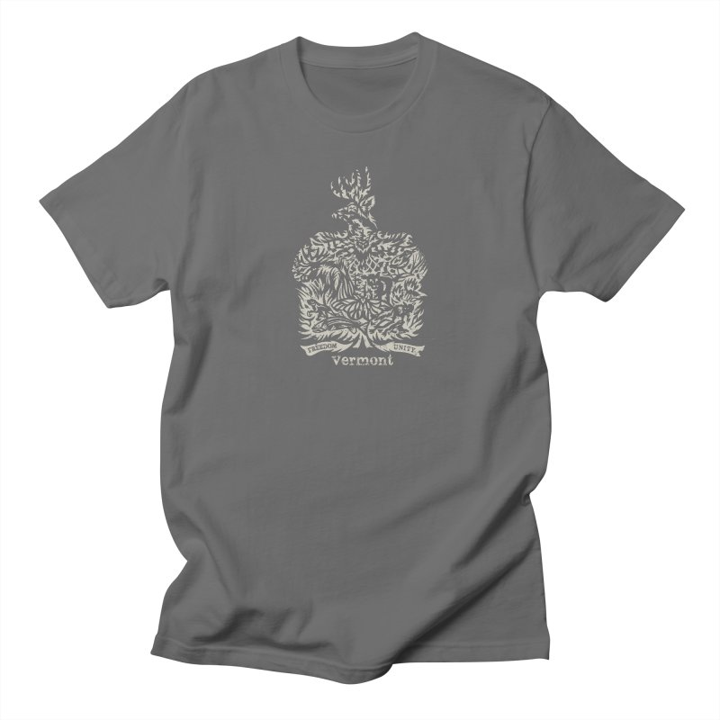 Vermont State Flag Men's T-Shirt by Sarah K Waite Illustration
