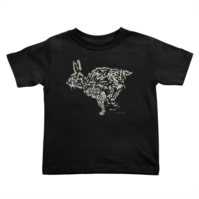 Rabbit Kids Toddler T-Shirt by Sarah K Waite Illustration