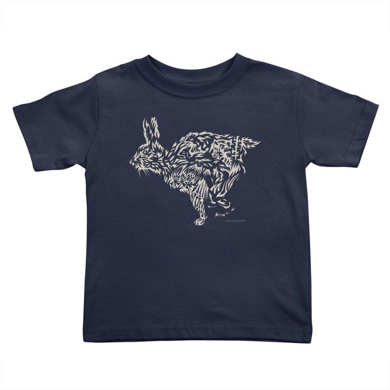 Rabbit Kids Toddler T-Shirt by Sarah K Waite Illustration