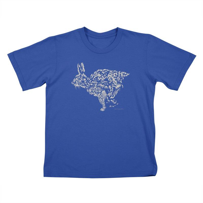 Rabbit Kids T-Shirt by Sarah K Waite Illustration
