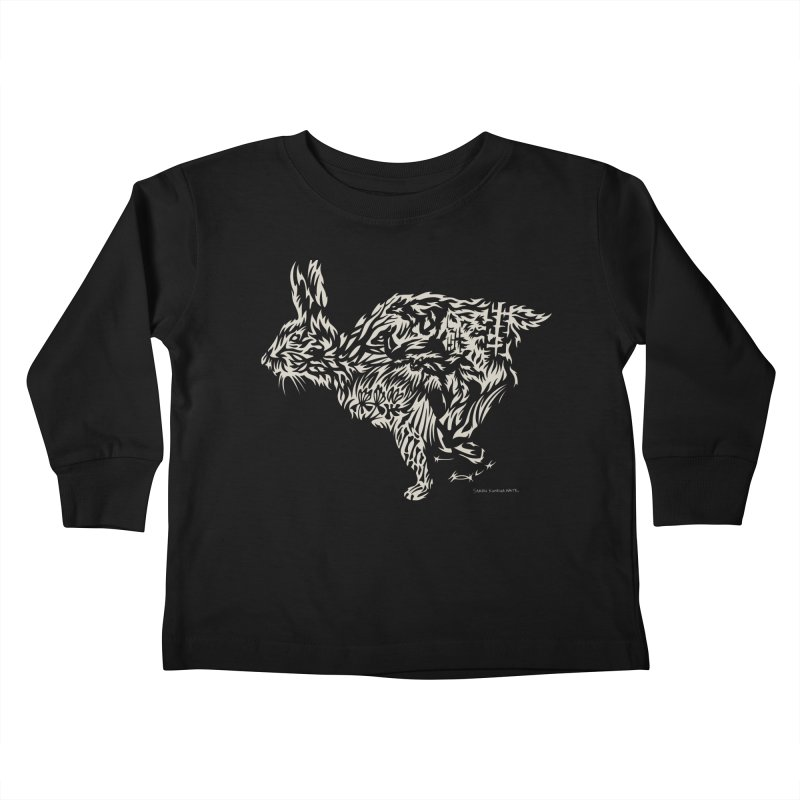 Rabbit Kids Toddler Longsleeve T-Shirt by Sarah K Waite Illustration