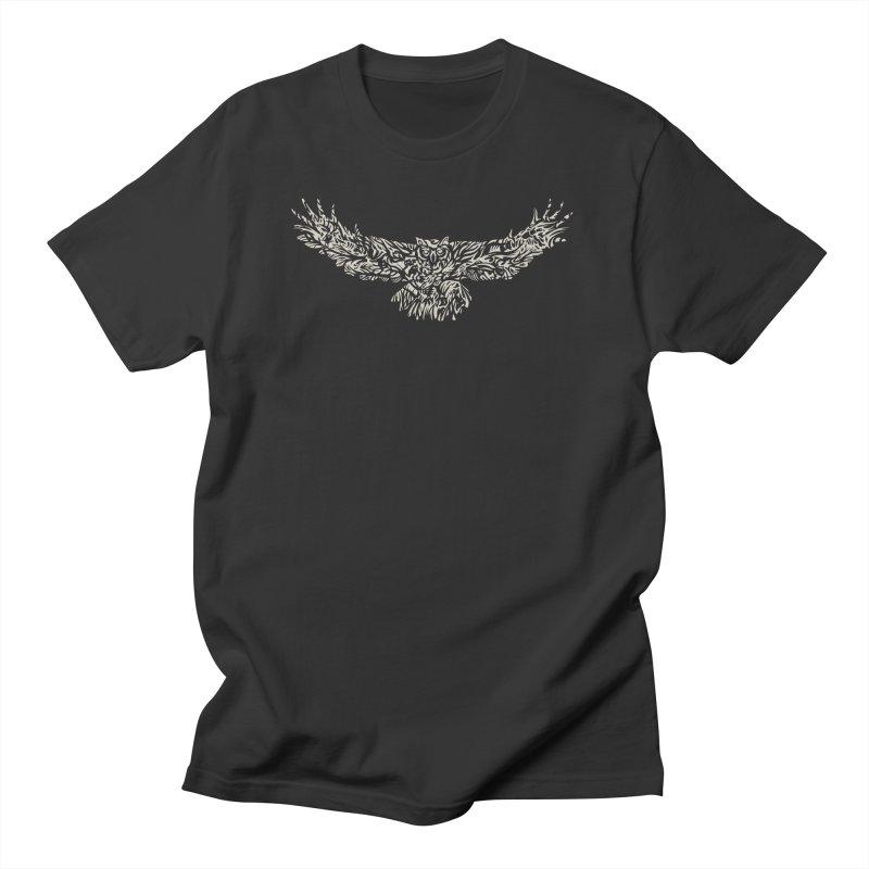 Owl Women's Regular Unisex T-Shirt by Sarah K Waite Illustration