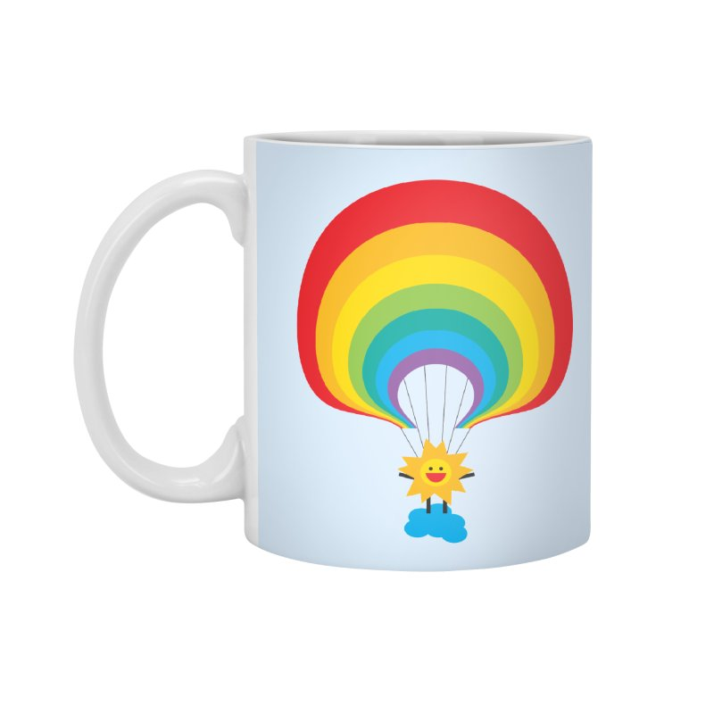 Here Comes The Sun Accessories Standard Mug by Avo G'day!