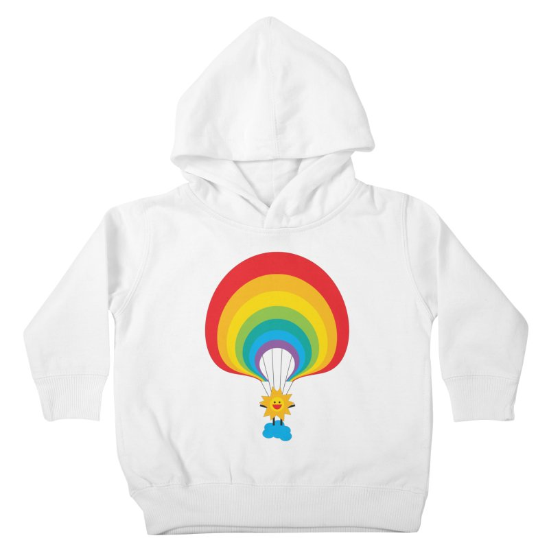 Here Comes The Sun Kids Toddler Pullover Hoody by Avo G'day!