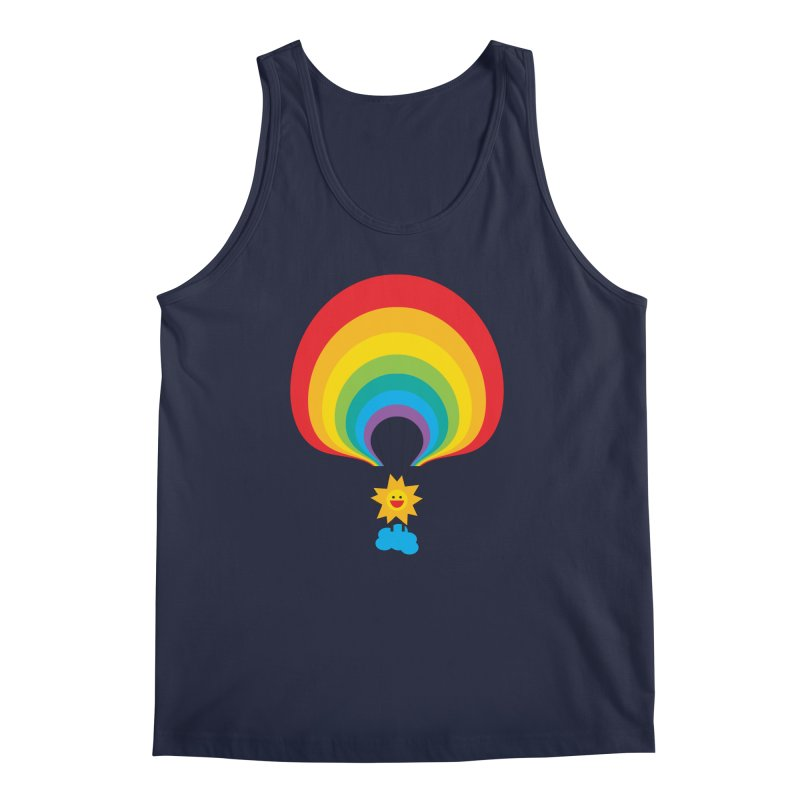 Here Comes The Sun Men's Regular Tank by Avo G'day!