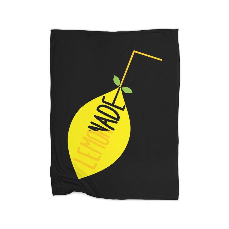 Let's Drink Lemonade! Home Fleece Blanket Blanket by Avo G'day!